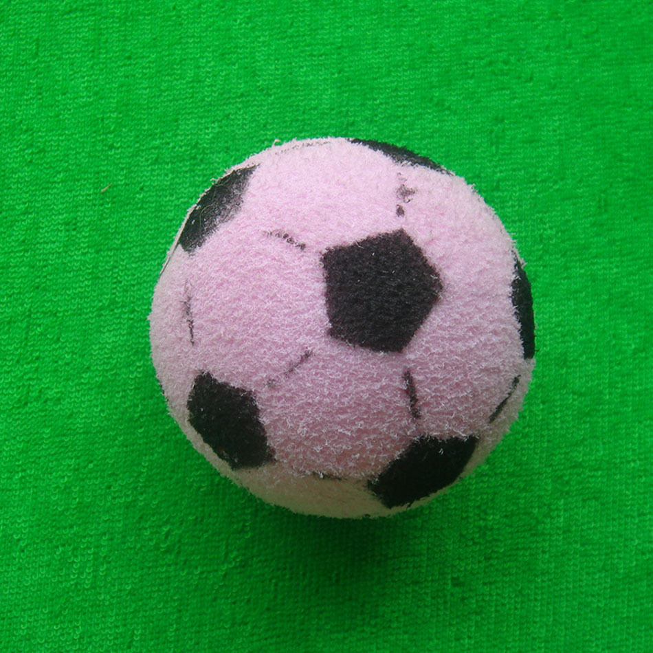 Simulation soccer ball dog Baby toys pet pet elastic rubber ball toy FB102 pet shop Wholesale Supplier(China (Mainland))