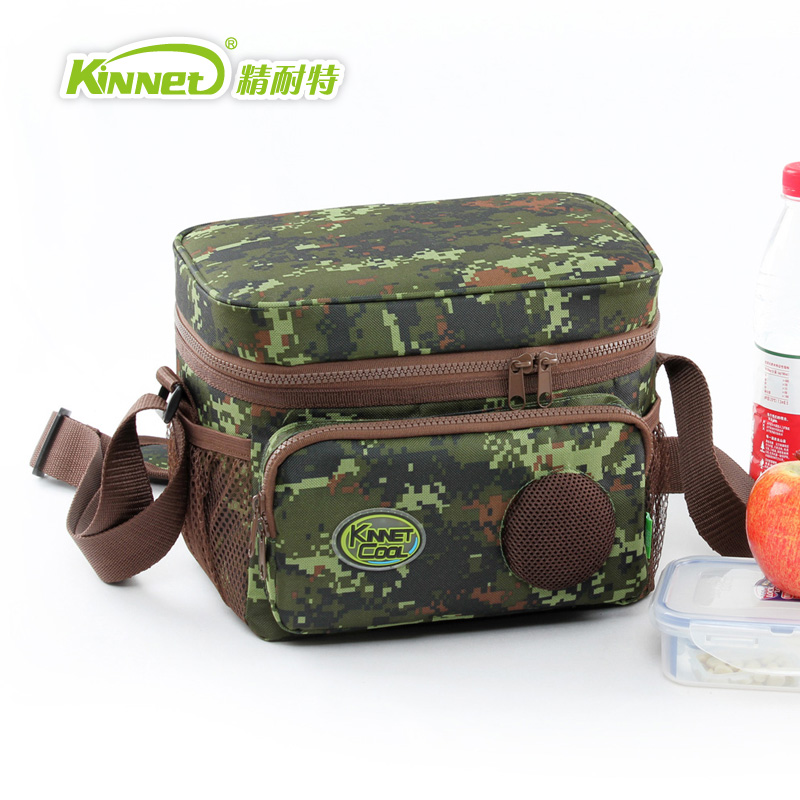 free shippping camouflage picnic bag built in stereo. Black Bedroom Furniture Sets. Home Design Ideas