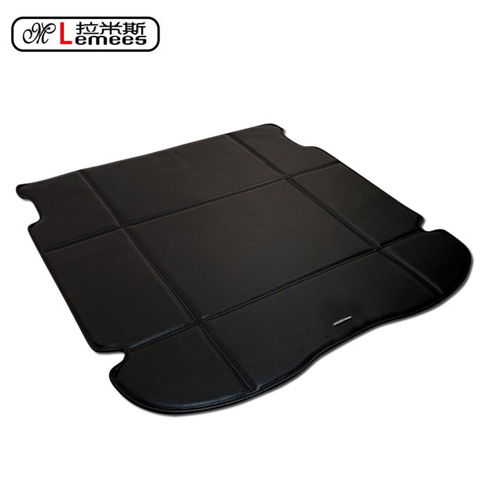 wateproof non slip car trunk mats for CRV City Jed Accord Fit in high class PU leather(China (Mainland))