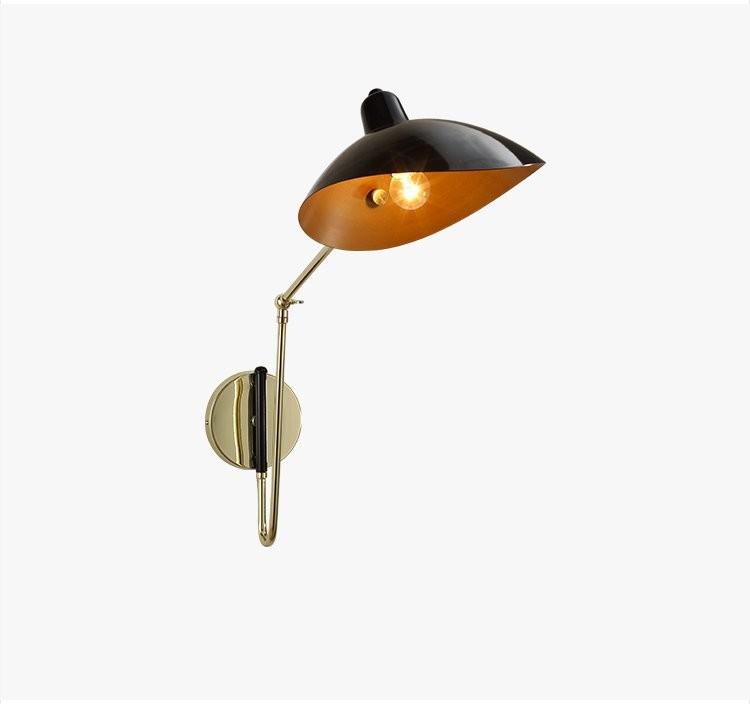 Купить Nordic Дизайнер Творческой Гостиной Настенные Лампы Современный Простой Личность Лофт Спальня Исследование Прикроватные Тумбочки, Настенные Светильники Бесплатная Доставка
