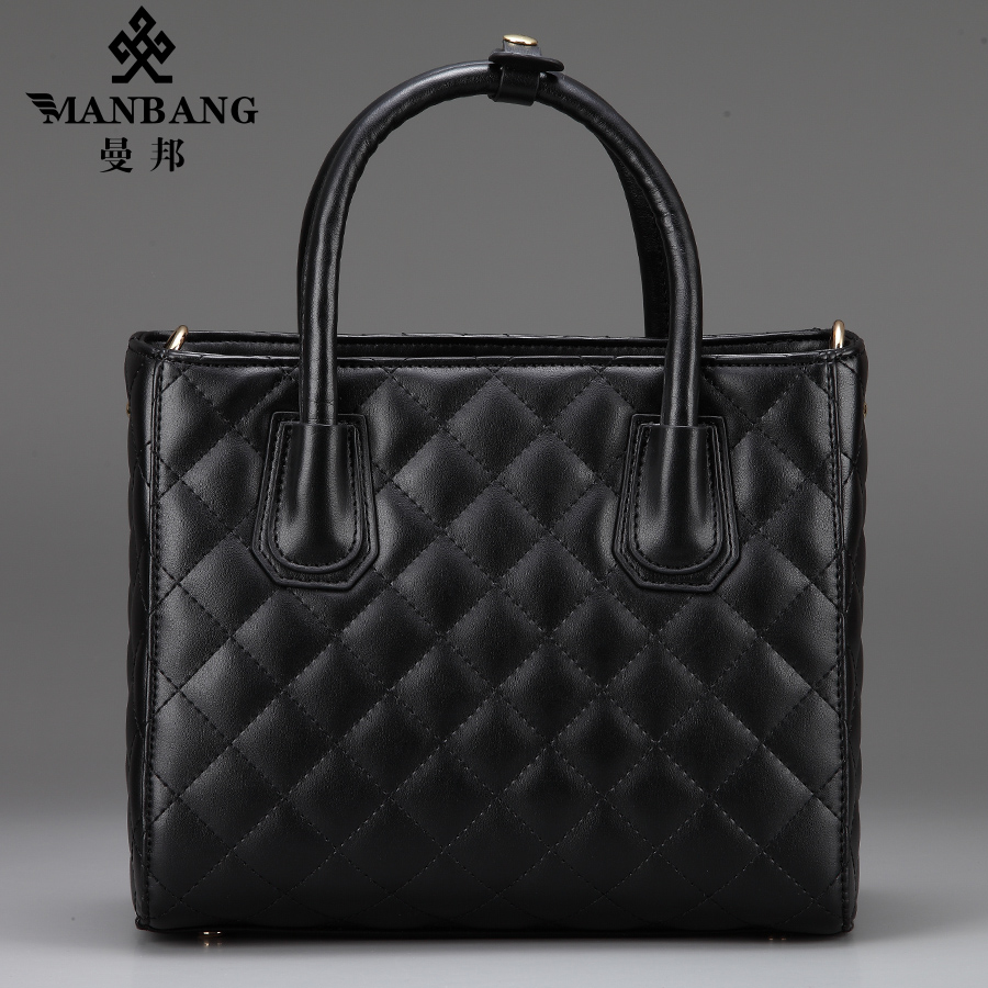 Mambang handbag female 2015 new bag leather fashion lady shoulder Satchel