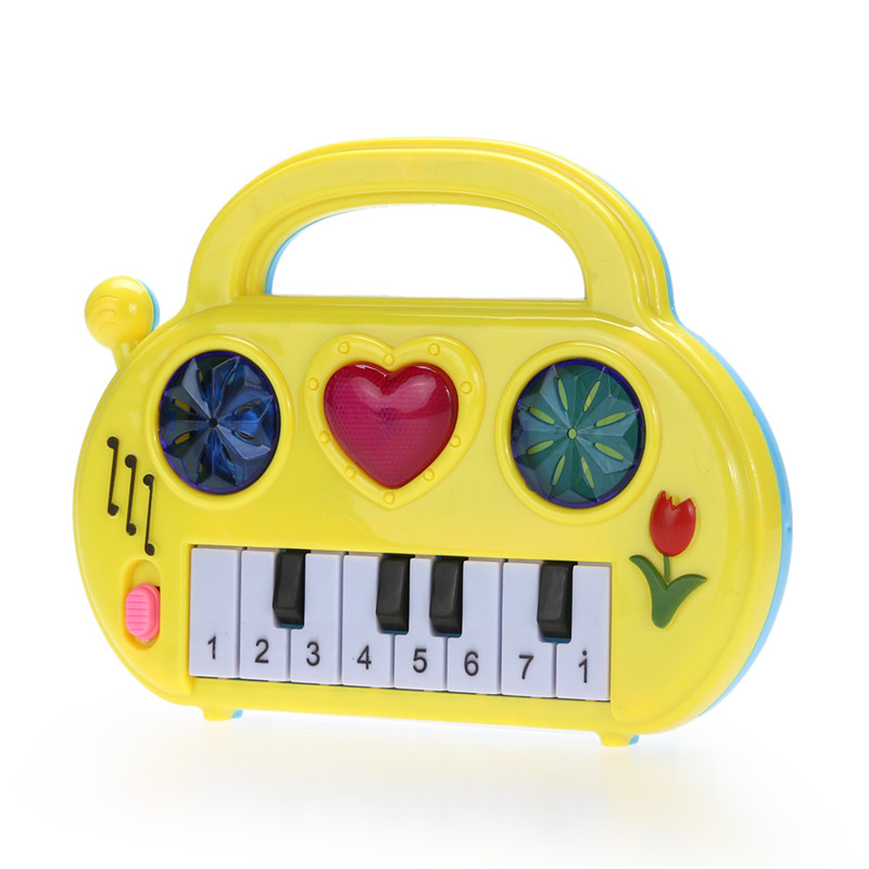 Kids Music Musical Developmental Cute Baby Piano Children Sound Educational Toy Musical Toy Baby Children Kid's Toy Color Random(China (Mainland))