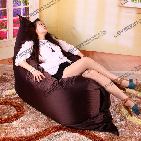 FREE SHIPPING the outdoor bean bag water proof bean bag cover 140*180cm coffee bean bag brown bean bag<br>