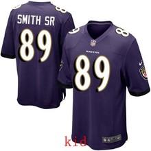 100% Elite men Baltimore Ravens WOMEN YOUTH KIDS HOT SALE NEW FAST SHIPPING 89 Steve Smith Sr(China (Mainland))