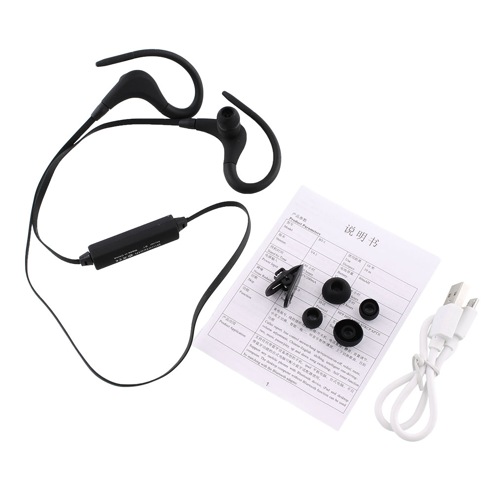 Mini Sports Handsfree Wireless Bluetooth In Ear Headset Earphone W/Mic For iP hone Samsung(China (Mainland))