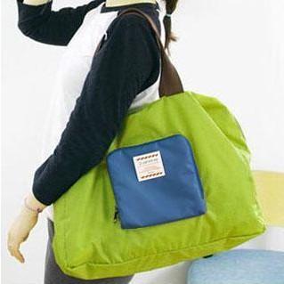 Wholesale! Nice Green Folding Street Ladies Women's Shopper Bag Handbag Tote Shoulder Bag Purse, Free Shipping(China (Mainland))