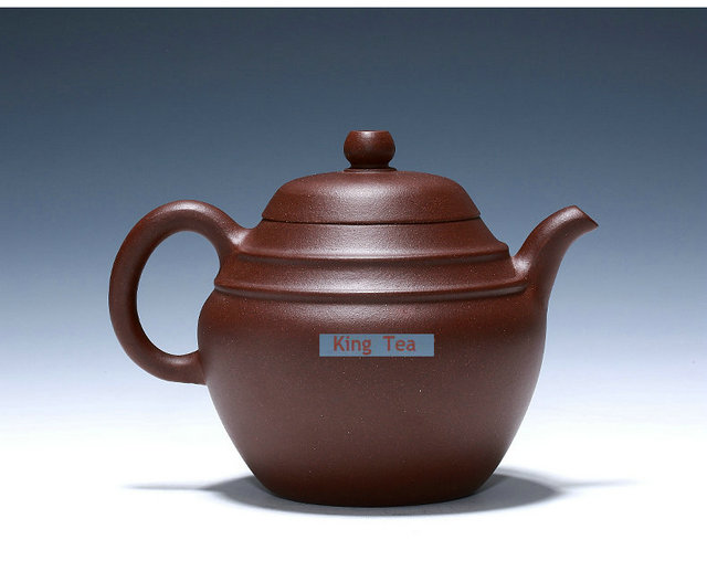 *King Tea* YiXing PanRuo Teapot ZiSha Purple Clay PuYun 230ml Multi Holes for GongFu, , Oolong, TieKuanYin tea Premium Premium(China (Mainland))
