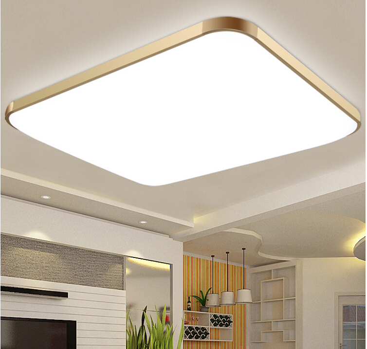 Led Ceiling Lights For Kitchens : Free shipping dhl modern led apple ceiling ligh square
