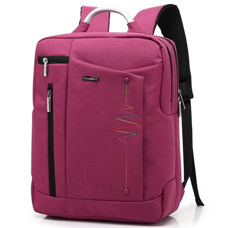 14 inch Multifunctional Shockproof Laptop Backpack Men Luggage & Travel Bags Hiking Bags Students School Shoulder Backpacks(China (Mainland))