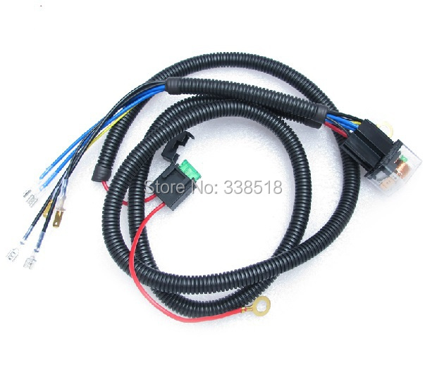 Horn Relay Wiring Harness : Special harness horn wiring modification car