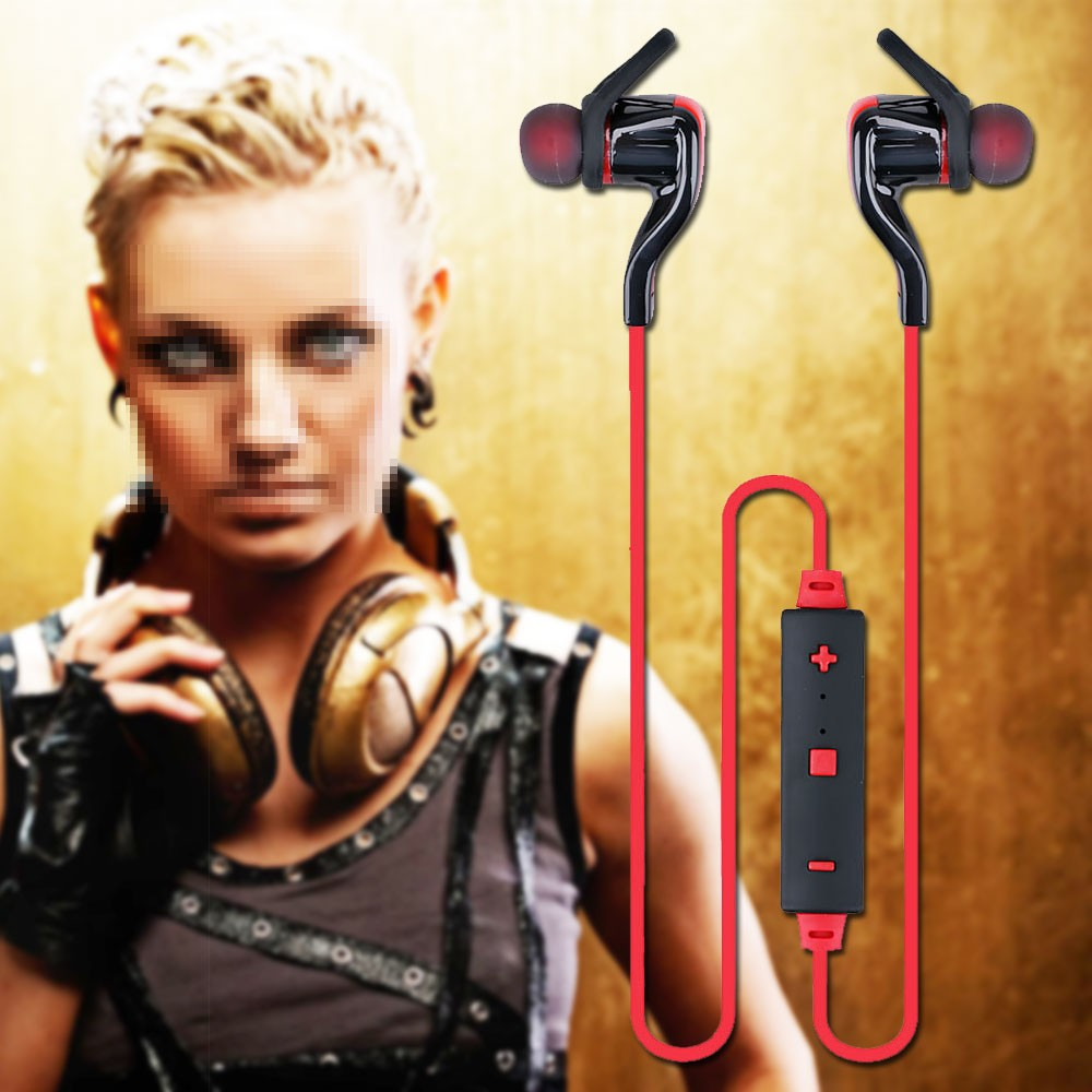 Kubite Wireless Bluetooth Headset Headphone Bluetooth 4.1 HIFI Stereo Sports Running Earphone Noise Cancelling Headset With Mic