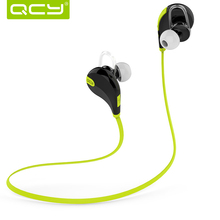 Original QY7 Wireless Bluetooth 4.1 Stereo Earphone Fashion Sport Running Headphone Studio Music Headset for Iphone w Mic