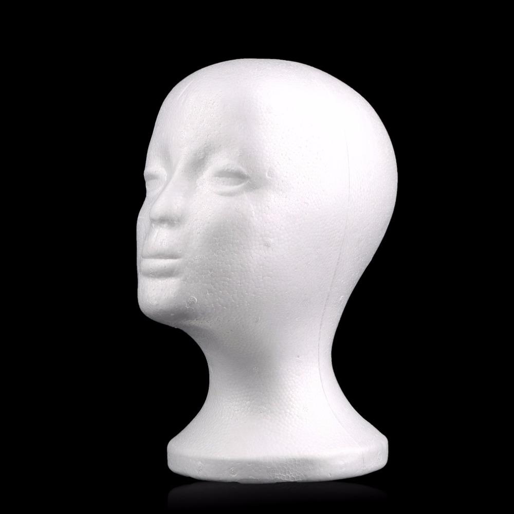mannequin en mousse de polystyr ne t tes achetez des lots. Black Bedroom Furniture Sets. Home Design Ideas