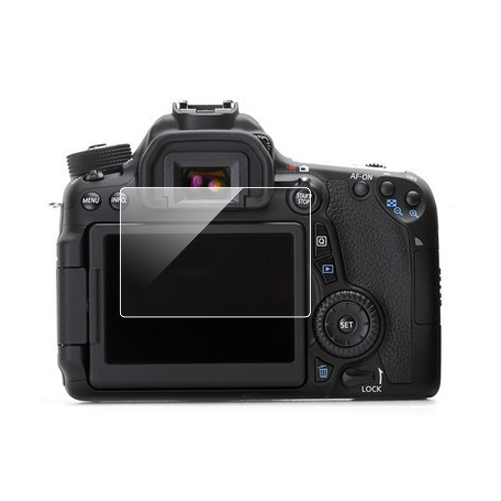 Гаджет  Tempered Film Screem Protector Glass LCD for Canon 70D 700D None Бытовая электроника