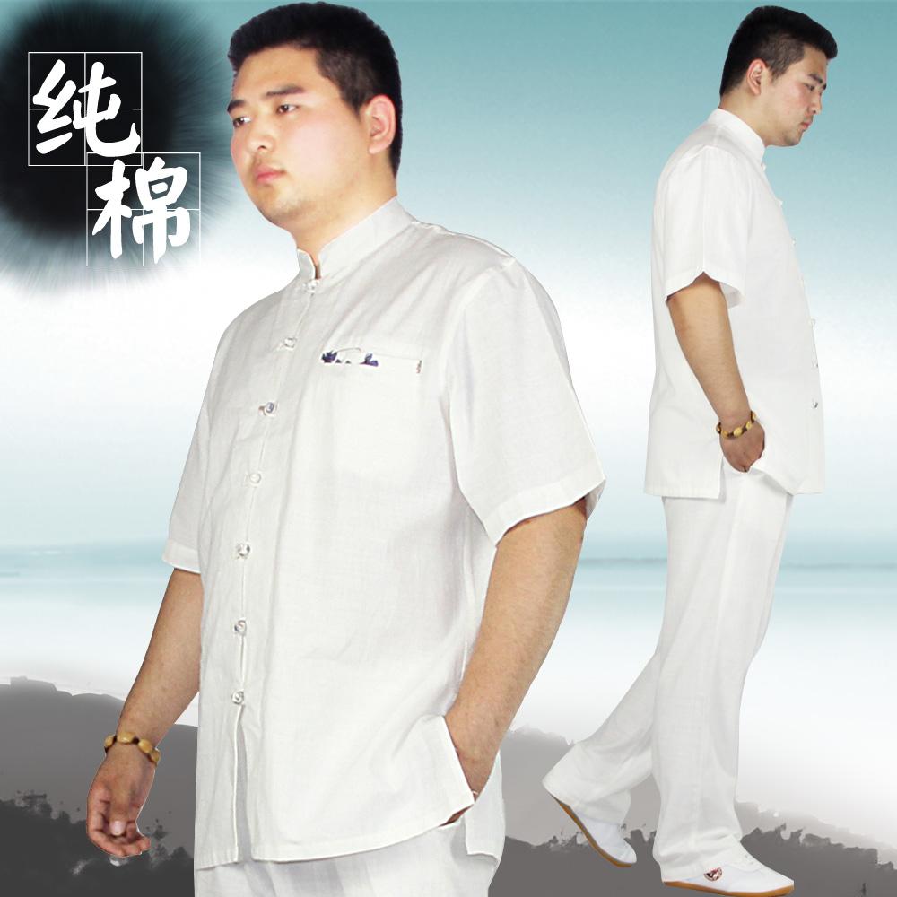 Здесь можно купить  Li Qiang summer cotton clothing with pure hand-made Taiji health clothes lay clothes, Chinese men  Спорт и развлечения