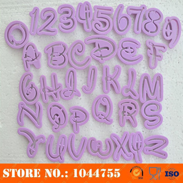 mickey mouse letter cutter