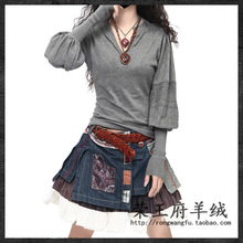 sweater women cashmere sweaters and pullovers christmas fashion 2015 autumn knitted wool winter oversized pullover woman(China (Mainland))
