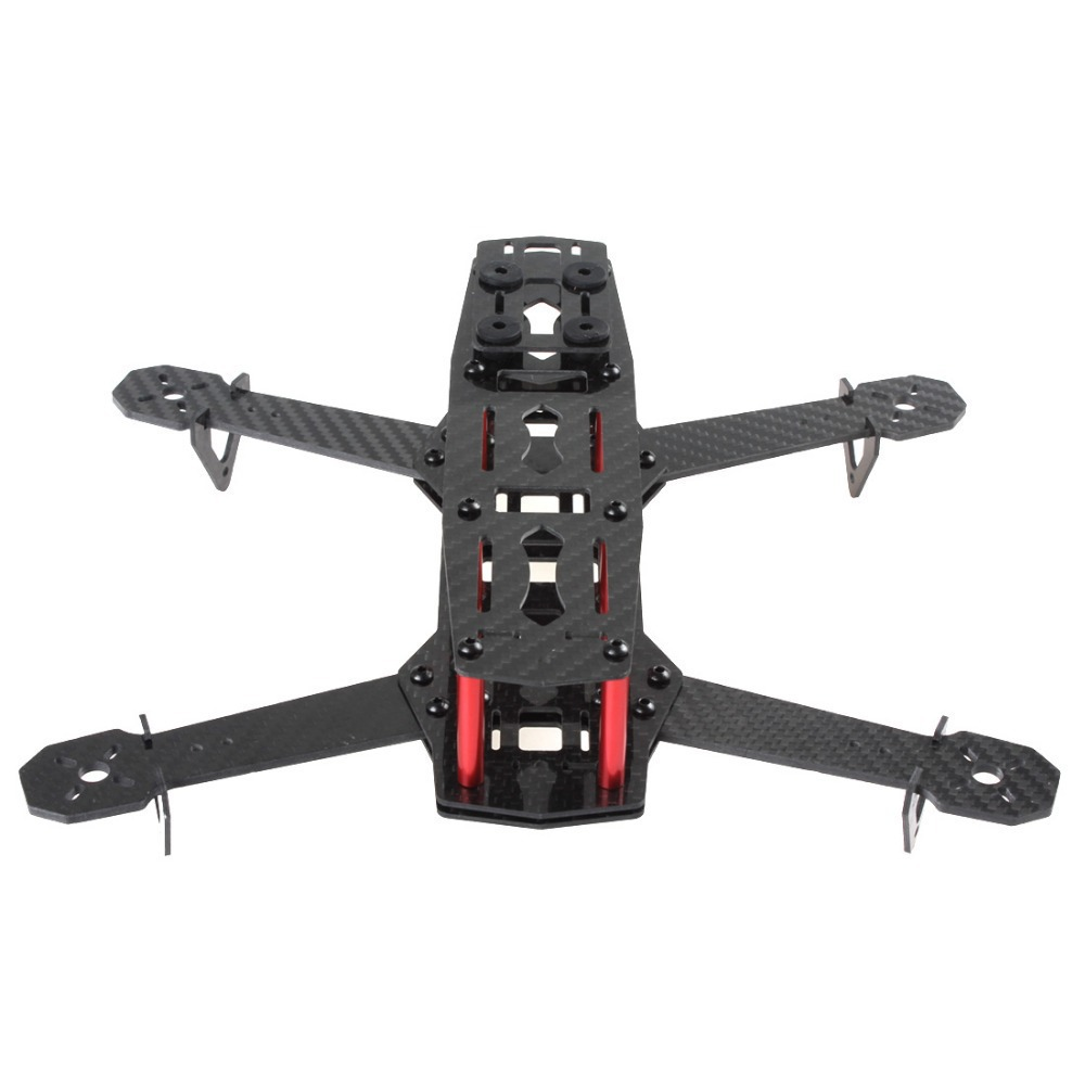 New arrival! Duarable & Lightweight Pure Carbon Fiber 4 Axis Mini 250 Quadcopter Frame Mini Quad Frame for 250 / C250(China (Mainland))
