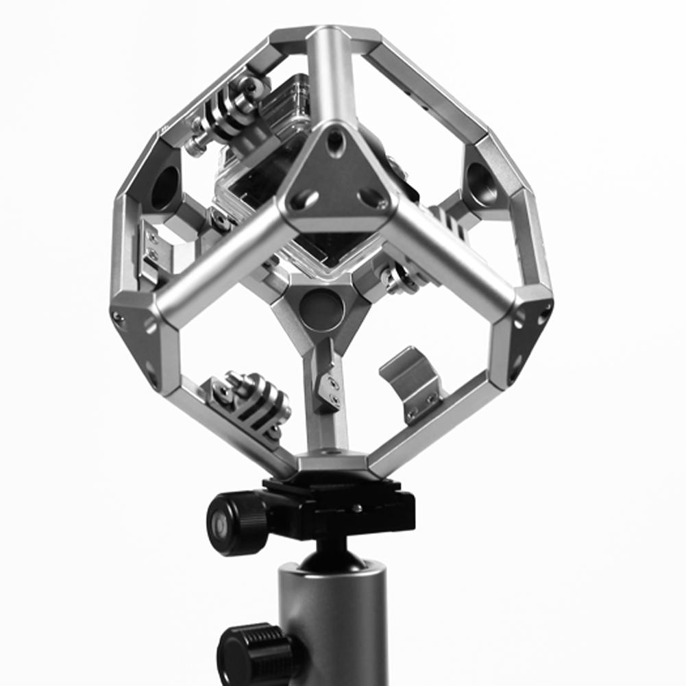 """ถูก ดำน้ำ720พาโนรามาGoPro Omni H OlderสำหรับVRถ่ายทำXiaomiยี่การกระทำกีฬากล้องกับ1/4 """"สกรู, 3/8""""สกรูL3FE"""