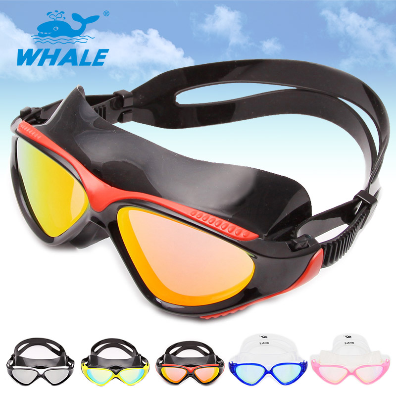 Whale Brand new silicone swimming goggles,swim mask, surfing mask(China (Mainland))