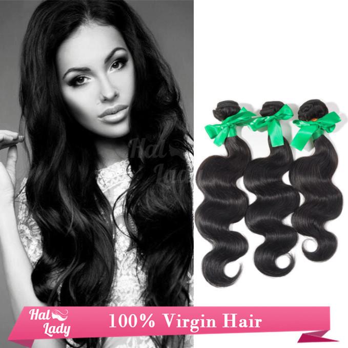 Best Selling 7A Peruvian Bodywave Virgin Hair Bundle Deals Natural Black Hair 3 PCS Hair Bundles Ali Market Grace Hair Products(China (Mainland))
