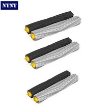NTNT Free shipping 3 set Tangle-Free Debris Extractor Brush for iRobot Roomba 800 Series 870 880 Vacuum Cleaner replacement(China (Mainland))