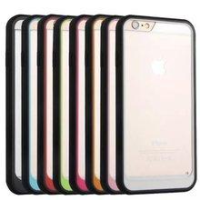 Iphone 6 6S 4.7 Plus 5.5 I6S Silicone Dual Color Transparent Fashion Hard Plastic +Soft TPU Hybrid Case Skin Cover 10 - Cooliaccessory electronic Co.,Ltd store