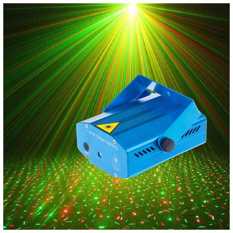 RG Mini Laser Projector DMX LED Stage Lighting Professional DJ Equipment Strobe Dance Disco Light Home Party Show Lights - Shenzhen BoJia Technology Co., Ltd. store