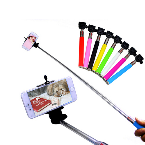 extendable handheld mobile phone monopod camera tripod phone holder self selfie stick monopod. Black Bedroom Furniture Sets. Home Design Ideas