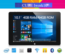 Original Cube iwork10 Ultimate Windows10+Android 5.1 Tablet PC 10.1'' IPS 1920x1200 Intel Atom X5-Z8300 Quad Core 4GB/64GB HDMI(China (Mainland))