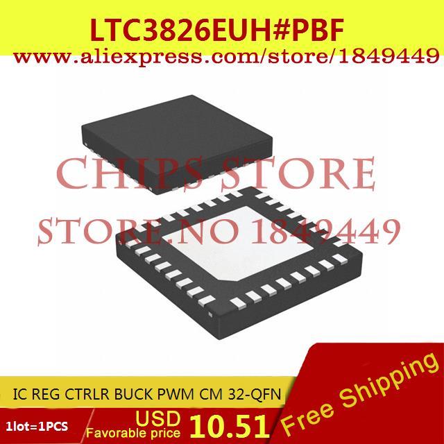 Бесплатная Доставка Горячей Продажи Smart Electronics Integrated Circuit LTC3826EUH # PBF IC REG CTRLR BUCK PWM CM 32-QFN LTC3826EUH 3826 LTC38  ltc2203cuk pbf ic ацп 16 битный 25msps 48 qfn ltc2203cuk 2203 ltc2203 ltc2203c ltc2203cu 2203c