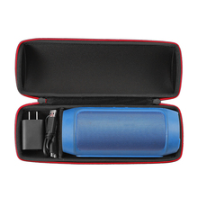 2017 Carry Travel Protective Speaker Cover Case For JBL Charge 2/Charge 2 + Plus Bluetooth Speaker Extra Space For Plug & Cables(China (Mainland))