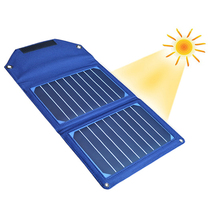 10W Sunpower Solar Energy Panel Portable LED Power Bank Fast Charging For Outdoor Camping Home Application With Retail Package