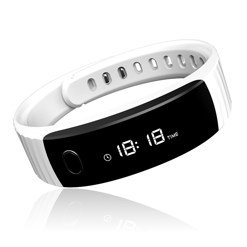 Smart Wristband OLED passometer/call/message/reminder with remote music control