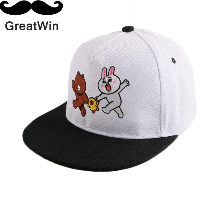 58 Cm flat peak embroidery cheap snapback hats for women woman girl boy men outdoor custom baesball cap summer beauty gorras(China (Mainland))