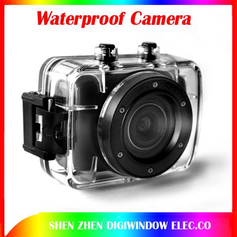 Hot Camera DVR Helmet Waterproof Camera HD Outdoor mini Camcorder Hot DV Digital Video Camera Free shipping(China (Mainland))
