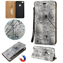 Buy Fashion Flip Case Dandelion style Embossing PU Leather Wallet Stand Cover Case Hauwei Honor 8 Y6 Pro Protective shell Fundas for $3.59 in AliExpress store
