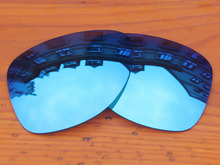 Polycarbonate-Ice Blue Mirror Replacement Lenses For Dispatch 2 Sunglasses Frame 100% UVA & UVB Protection