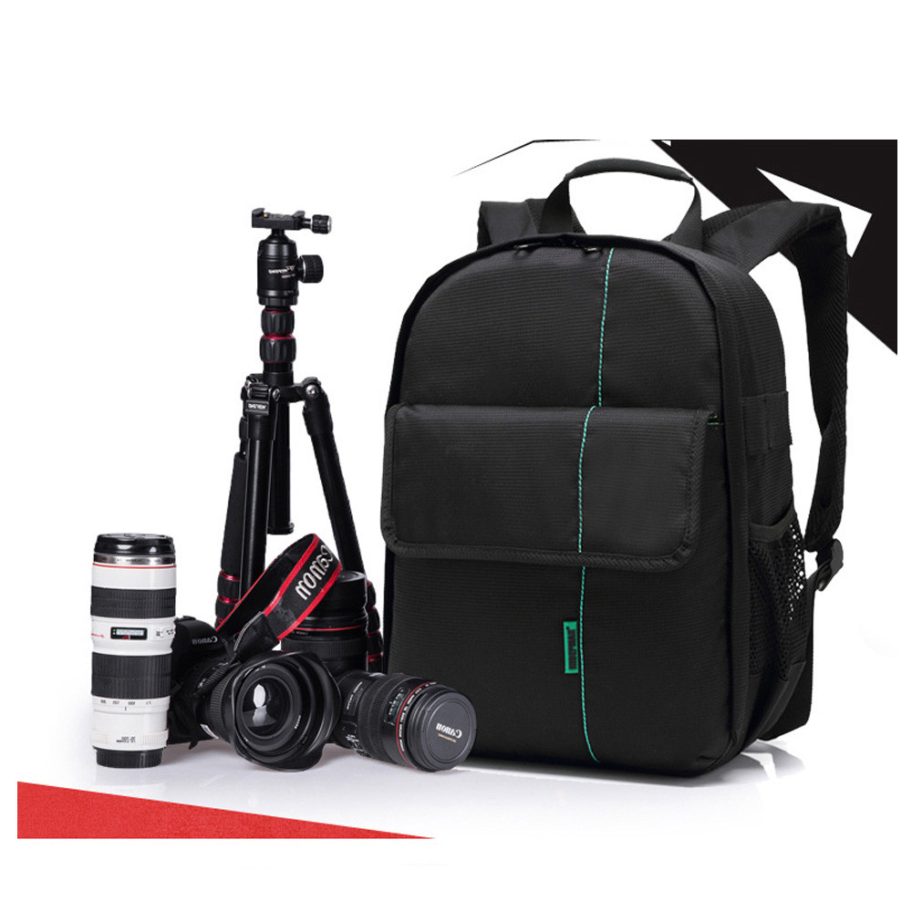 image for Hot-sale 3 Colors Camera Backpack Gifts High Quality Camera Bag Gifts