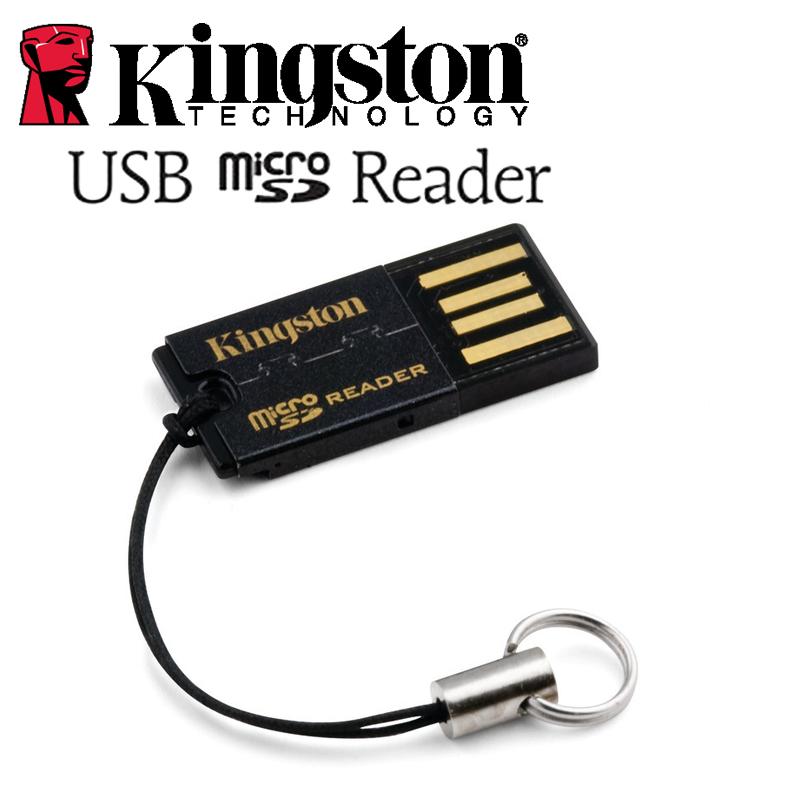 Kingston usb micro SD HC XC High speed ultra-thin mini Mobile phone card TF card reader(China (Mainland))