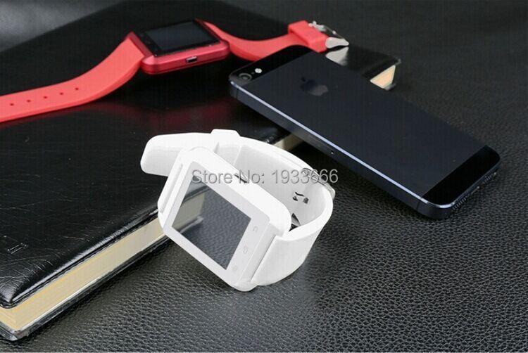 Digital bluetooth smart wristwatch phone U8, sport runnning tracker barometer sleep monitor smart bracelet alarm slide screen(China (Mainland))