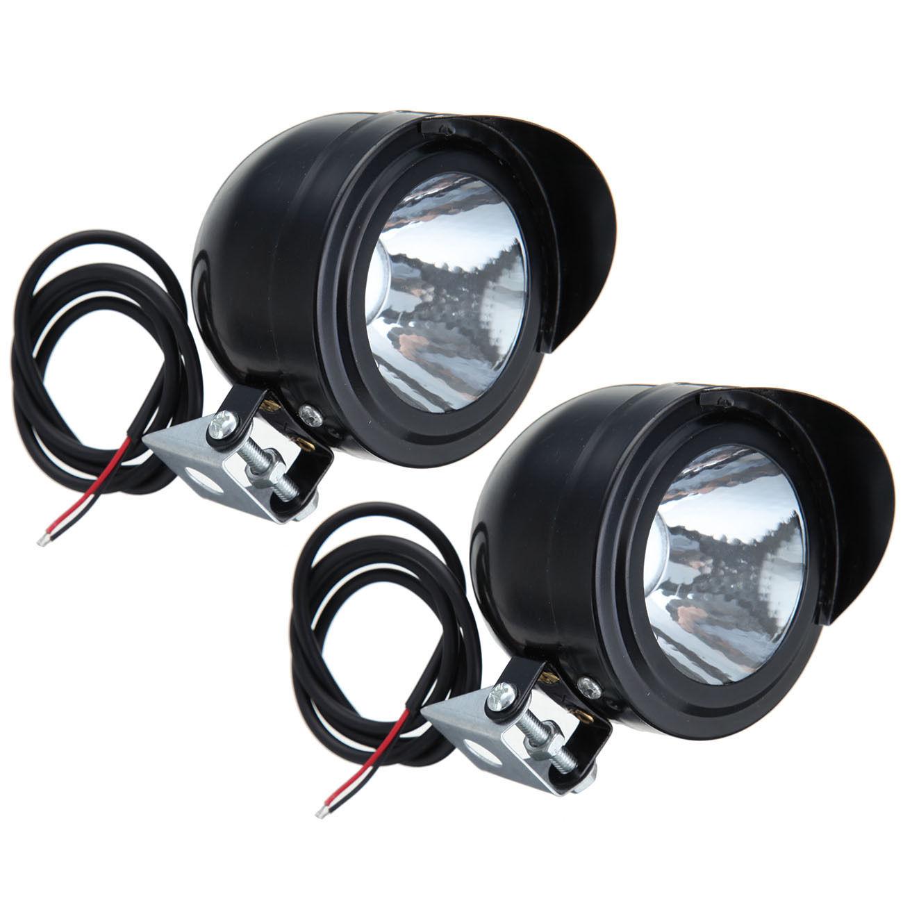 Motorcycle Motorbike Bike LED Headlight Spot Light Head ...