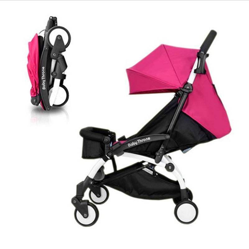 Free shipp Baby Stroller Newborn Infant Sleeping Basket Baby Safety Car Seat Baby Carriage Easy Folding Pram(China (Mainland))