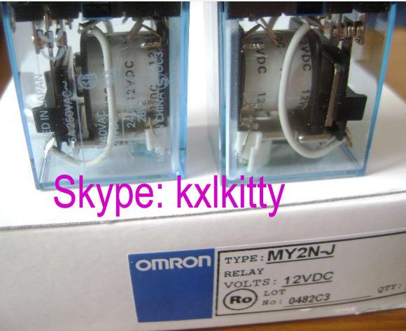 MY2N-J(MY2NJ)  DC12V     Intermediate relay  OMRON   New and original  8pin<br><br>Aliexpress