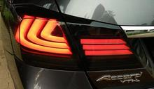 free shipping brand new led tuning tail lamps,led tail lights fit for accord 9 generation 2015′