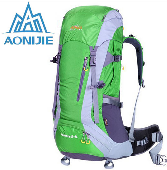 Фотография AONIJIE Outdoor Sport Travel Backpack Climbing Bags Knapsack Camping Hiking Backpack Cycling Mountain Climbing Backpack