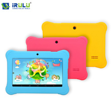 iRULU BABYPAD Y1 7 inch kids Tablet Google GMS Test Quad Core Dual Cam Android 4.4 8GB Free Game Learn Grow Play Kids Education(China (Mainland))