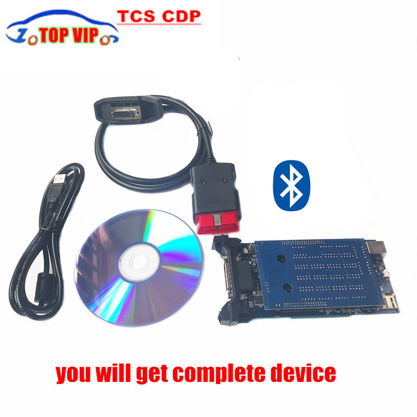 Lowest Price TCS CDP PRO PLUS NEW VCI Diagnostic Scan Tools TCS CDP With Bluetooth For Cars & Trucks 2015 R3 / 2014.R2+keygen(China (Mainland))