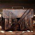 BILLETERA Genuine Leather Men Messenger Bags Large Capacity Business Briefcase Travel Bag Shoulder Bag