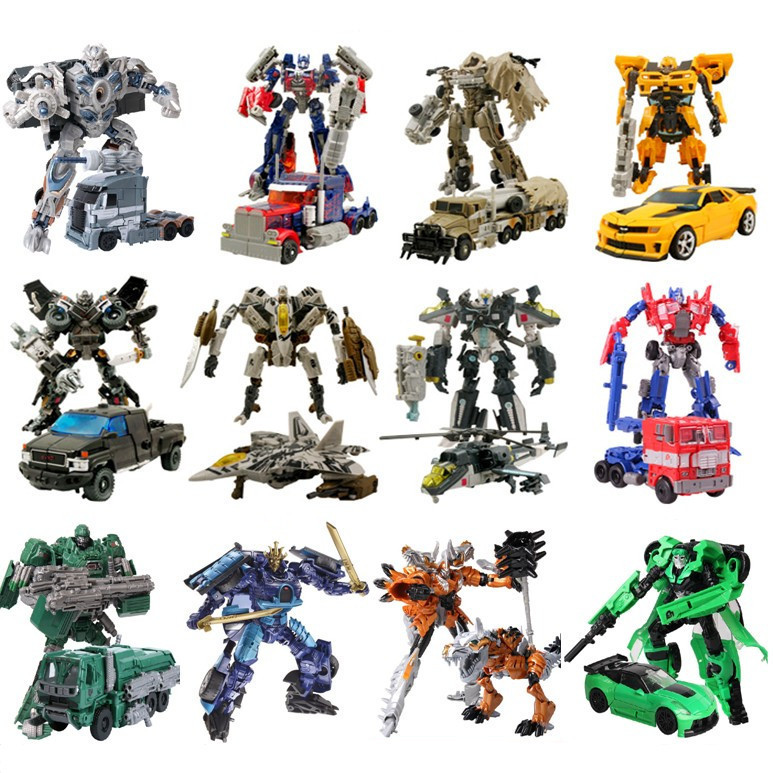 Hot Sale 18cm Transformation Optimus Prime Bumblebee Deformation Robots Toy Action Figures Toys No Original Box(China (Mainland))